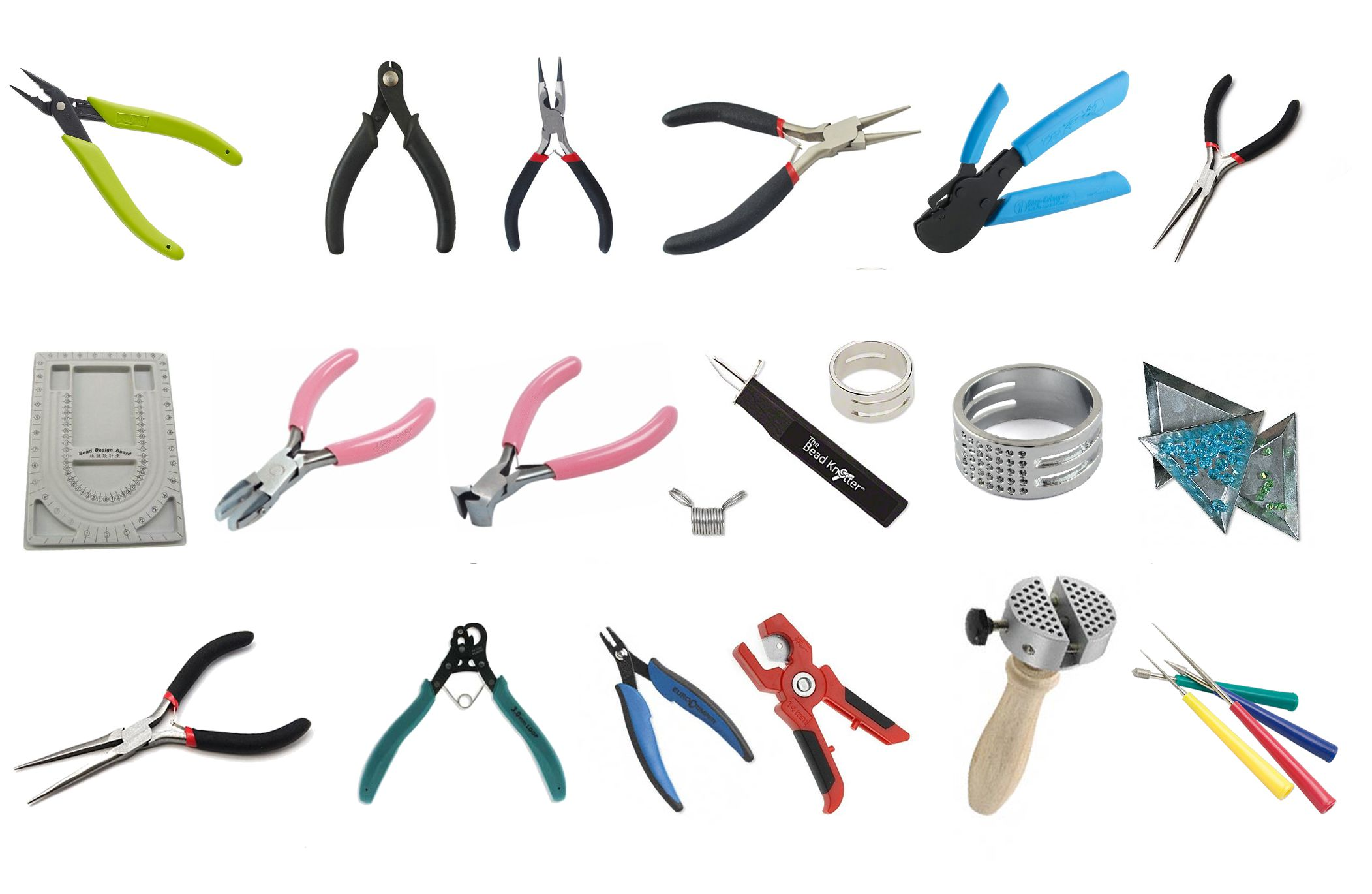 Какие инструменты нужны для изготовления бижутерии своими руками 95