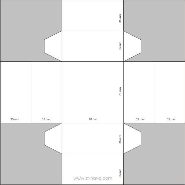 Схемы для коробочек а4